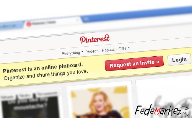 Pinterest, una lavagna di immagini e video