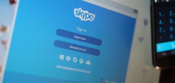 chiamata skype
