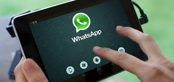 whatsapp su tablet